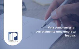 Encerrar Empresa M Pereira - M.PEREIRA Contabilidade